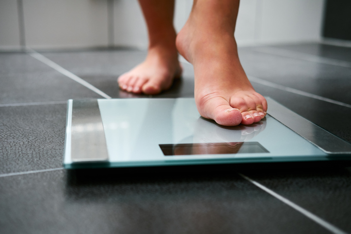 When you step on the scales, how do you feel?